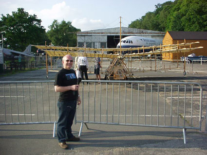 Mike Gurr at Brooklands Museum