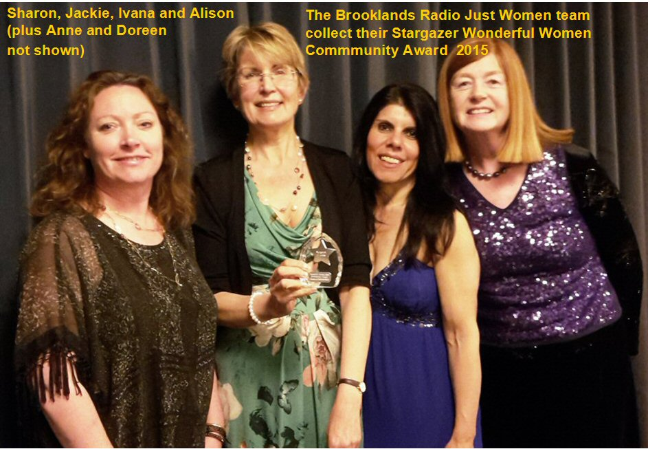 Wonderful Women Award April 2015